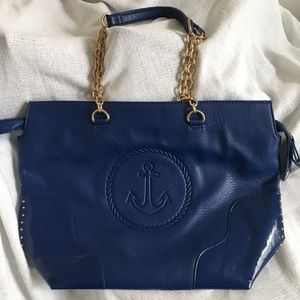 Delta Gamma Anchor Blue Tote Bag